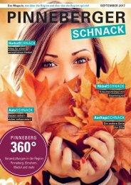 Pinneberger Schnack September/ Oktober 2017 2. Ausgabe