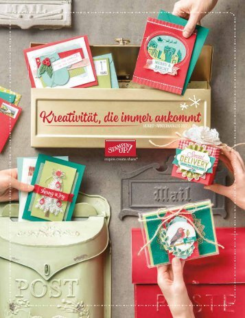 STAMPIN' UP! Herbst-Winter-Katalog-2017-2018
