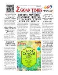 GoanTimes September 1, 2017 Issue