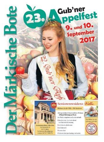Appelfest Guben 2017