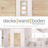 dwb Wohnraumtüren CPL Holz Design Line mit Lisene L3 Akazie quer