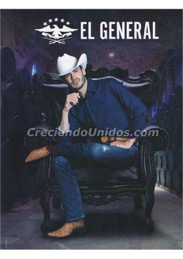 #601 Catálogo El General Original Western Wear Botas y Ropa vaquera