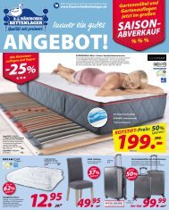 Dänisches Bettenlager Prospekt