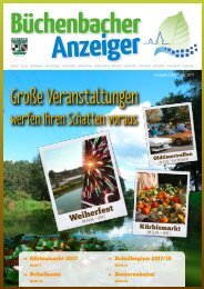 September 2017 - Büchenbacher Anzeiger