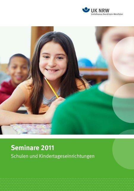 Bitte ein Bild einladen! Seminare 2011 - Unfallkasse NRW