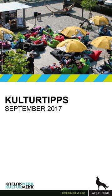 KulturTipps September 2017