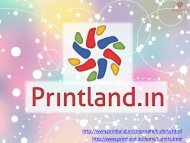 PrintLand.in - Buy Promotional or Corporate T Shirts with Logo Printed in Bulk Online India