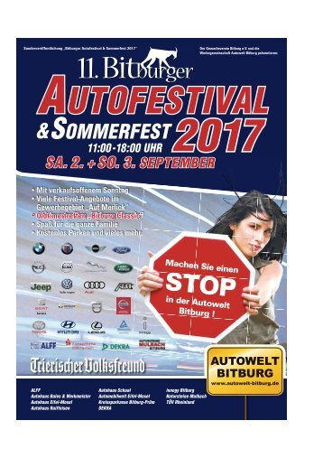 11. Bitburger Autofestival 2017