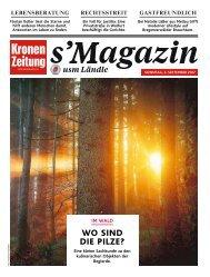 s'Magazin usm Ländle, 3. September 2017