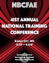 2017 NBCFAE Annual Conference eJournal