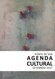 Agenda Cultural de setembro 2017