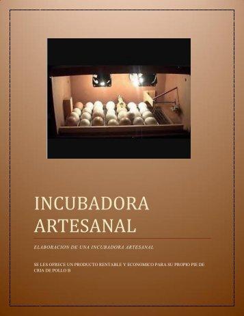 INCUBADORA ARTESANAL