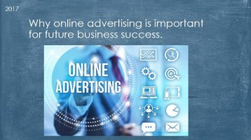 Why online advertising is important for future business succes
