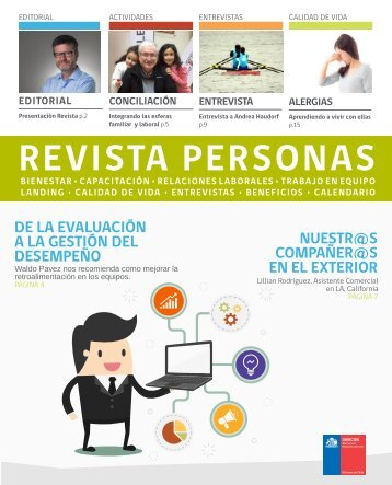 Revistas Personas Agosto 2017