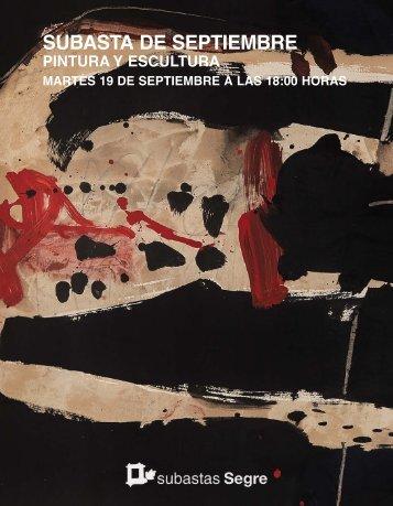 Subasta pintura septiembre 2017