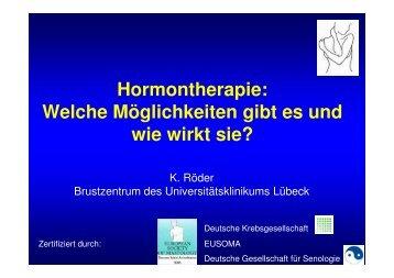Endokrine Therapie