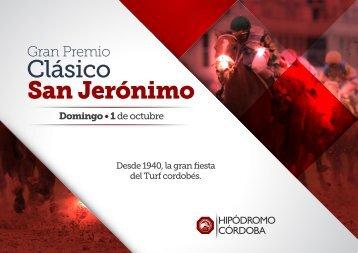 Sponsoreas la 77º Edición del Clásico San Jerónimo