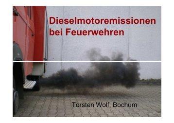 Dieselmotoremissionen bei Feuerwehren - Unfallkasse NRW