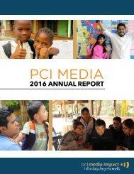 Annual Report 2016 PCI Media