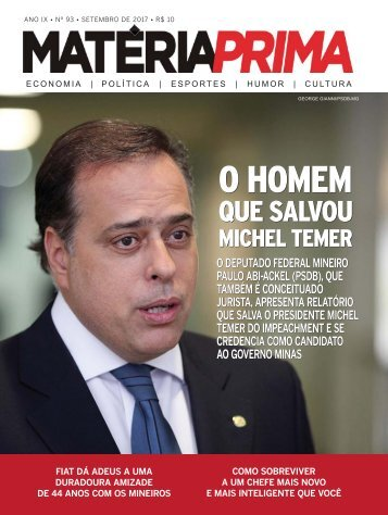Matéria Prima 93 - SETEMBRO 2017 - WEB