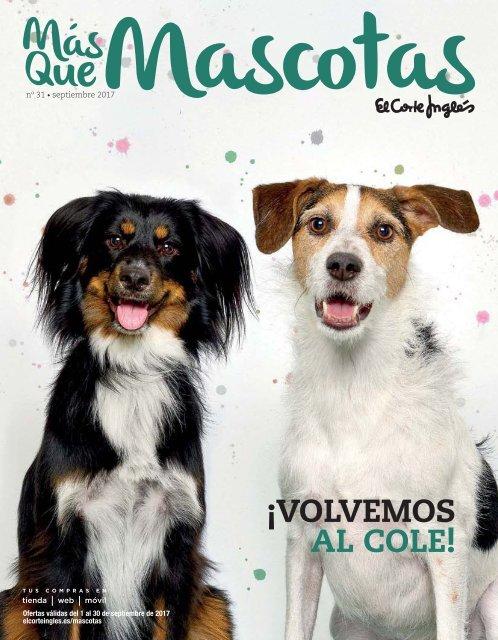 Más Que Mascotas El Corte Inglés Septiembre 2017