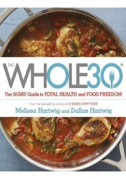 Preview The Whole 30 The official 30D guide to total health and food freedom by Dallas