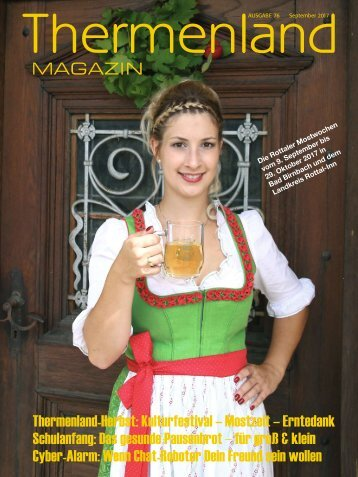 Thermenland Magazin Sep. 2017