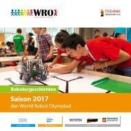Saisonbroschüre WRO 2017 - TECHNIK BEGEISTERT e.V.