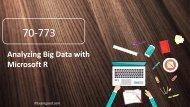 Examgood 70-773 Analyzing Big Data with Microsoft R real exam