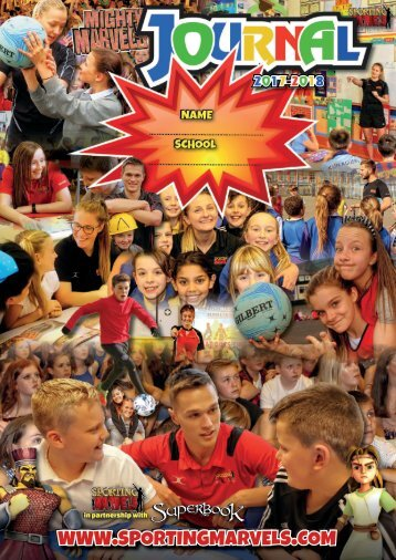 Mighty Marvels Journal 2017-18