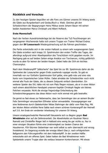 20170829_Rückblick und Vorschau