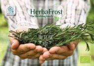 Herbafrost catalog  web Organic  2017 V02
