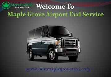 Taxi Cabs in Maple Grove