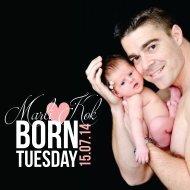 Newborn Photo Book