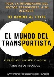 Portal El Mundo del transportista Beneficios para micro empresas