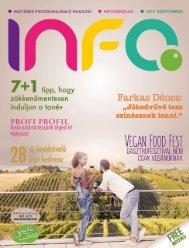 InfoPont Magazin szeptember