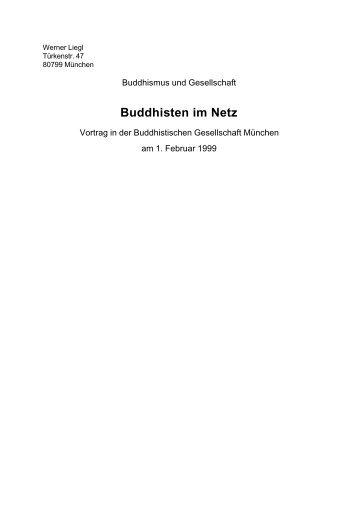 Buddhisten im Netz
