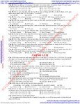 TRẮC NGHIỆM HÓA 12 CHƯƠNG 3 AMIN - AMINO AXIT - PEPTIT VÀ PROTEIN (ONLINE VERSION 03092017) - Page 7