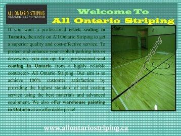Pavement Maintenance in Toronto