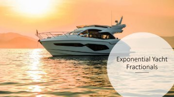 Exponential Yachts Brochure
