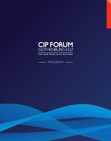 knowledge - CIP FORUM 2011