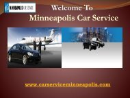 VIP limousine Service in Minneapolis
