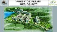 Prestige Ferns Residency Luxury Apartment Bangalore