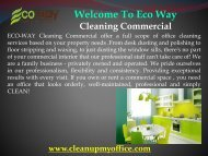 professional janitorial service in New Jersey