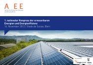1. nationaler Kongress der erneuerbaren Energien und ...
