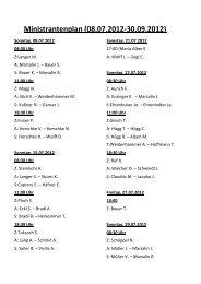 Ministrantenplan (08.07.2012-30.09.2012)