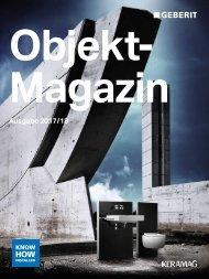 2017 Objekt Magazin (Geberit Keramag)