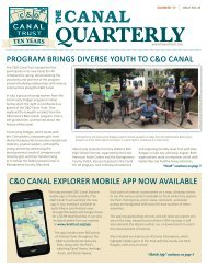 The Canal Quarterly Summer 2017
