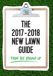 Twin View Turf 2017-2018 New Lawn Guide