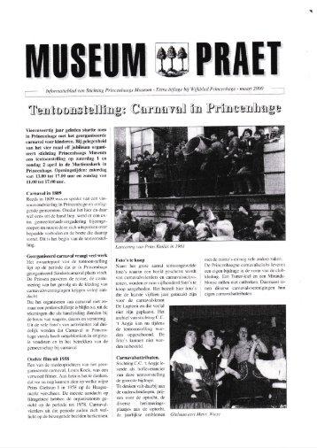 Museum Praet maart 2000